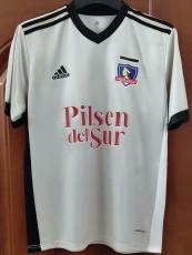 21-22 Colo-Colo Commemorative Edition White Fans Soccer Jersey