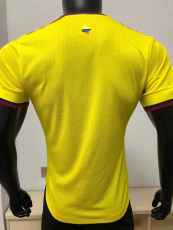 20-21 Colombia Home Player Version Soccer Jersey
