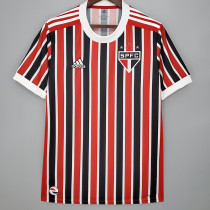 21-22 Sao Paulo 1:1 Away Fans Soccer Jersey