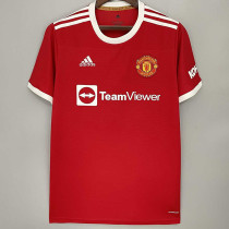 21-22 Man Utd 1:1 Home Fans  Soccer Jersey