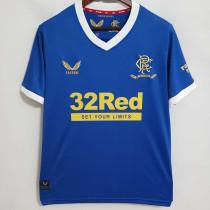 21-22 Rangers Home Fans Soccer jersey