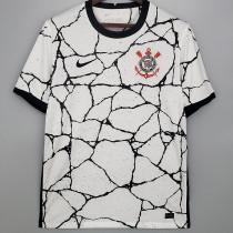 21-22 Corinthians 1:1 Home White Fans Soccer Jersey