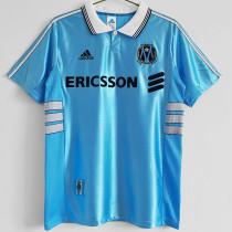 1998-1999 Marseille Away Retro Soccer Jersey