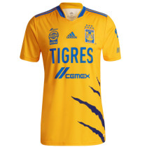 21-22 Tigres UANL Home Fans Soccer Jersey