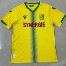 21-22 Nantes Home Fans Soccer Jersey