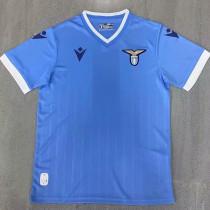 21-22 Lazio Home Fans Soccer Jersey