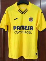 21-22 Villarreal Home Fans Soccer Jersey
