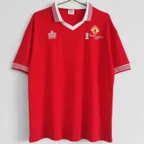 1977 Man Utd Home Retro Soccer Jersey