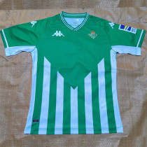 21-22 Real Betis Home Fans Soccer Jersey