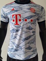21-22 Bayern Third Player Version Soccer Jersey