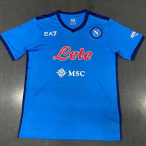 21-22 Napoli Home Fans Soccer Jersey