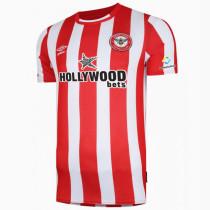 21-22 Brentford Home Fans Soccer Jersey