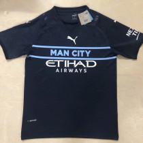 21-22 Man City Third Fans Soccer Jersey