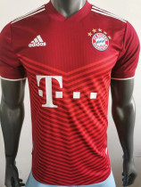 21-22 Bayern Home Player Version Soccer Jersey
