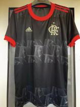21-22 Flamengo 1:1 Third Black Fans Soccer Jersey