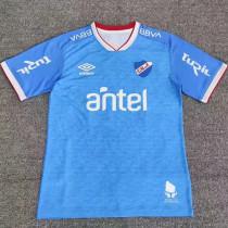 21-22 Club Nacional Blue Fans Soccer Jersey