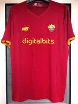 21-22 Roma 1:1 Home Fans Soccer Jersey