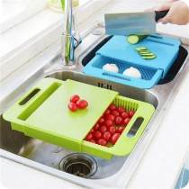 3 In 1 Kitchen Sink Cutting Board