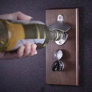 Cap Catcher Magnetic Bottle Opener
