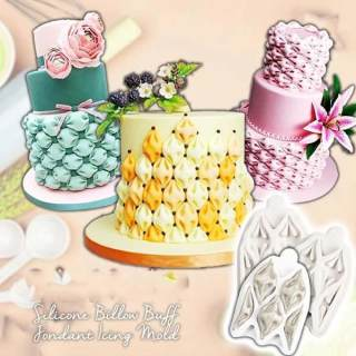 Billow Puff Fondant Icing Mold