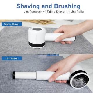 2-in-1 Rechargeable Defuzzer/Fuzz Pill Ball Remover