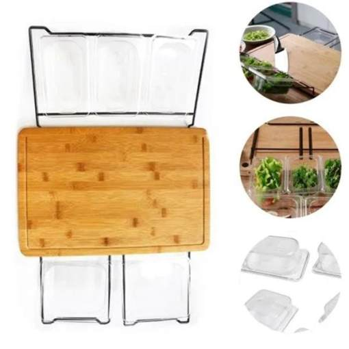 Multi-function Best Bamboo Cutting Board