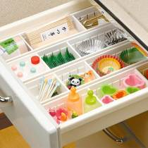 Home Kitchen Adjustable Drawer Organizer Divider Storage Box