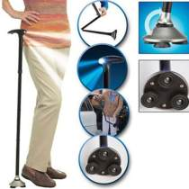 Magic Hurry Cane Folding With LED Light Trusty Cane