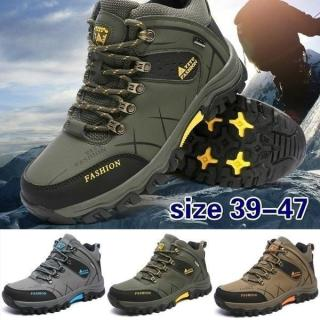 Men Fashion Walking Shoes Hiking Outdoor Sneakers