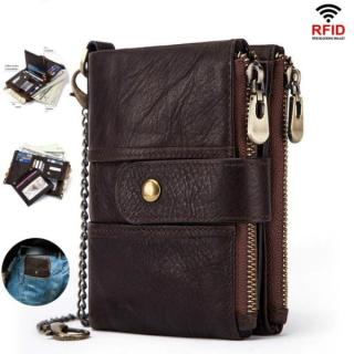 New Men Small Compact Bifold Pocket Mini Purse Credit Cards Wallet