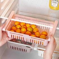 Adjustable Pull-out Refrigerator Storage Box
