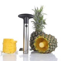 Kitchen Accessories Stainless Steel Pineapple Spiralizer Cutter Core Peel Slicer