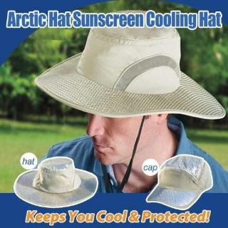 Adjustable Outdoor Summer UV Protection Cooling Sun Hat/Cap