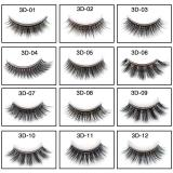 Magic 3D Glue-Free Eyelash Natural long Lashes Sticky