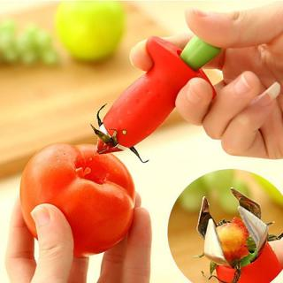 Strawberry Hullers Metal Plastic Fruit Leaf Remover