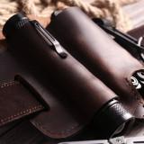 Multifunction Handmade Leather Multitool Sheath