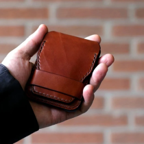 Men's Minimalist Card Holder Slim Business Travel Wallet