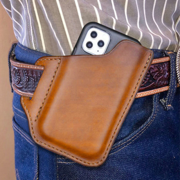 Mens Fashion Convenient Solid Phone Case