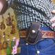 Men Vintage Durable Solid Tool Storage Bag
