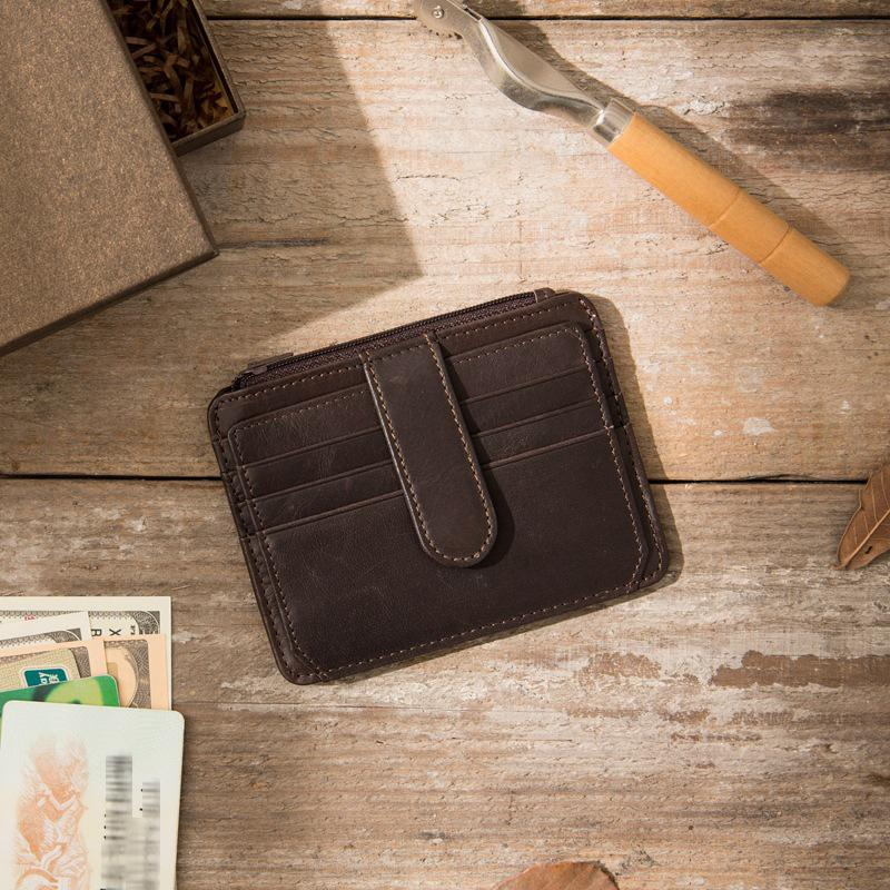 Men's Mini Coin Purse Card Holder Wallet