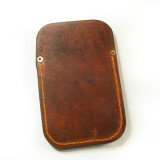 Leather Flap Pocket Sheath Without Belt Loop
