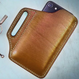 Outdoor Vintage Leather Mobile Phone Bag