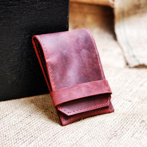 Cool Automatical Pop-up Flap Leather Phone Case Wallets