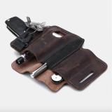 Unique Quality Leather Belt Loop Waist Multitool Sheath