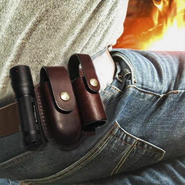 Double-snap Multitool Sheath EDC Waist Bags