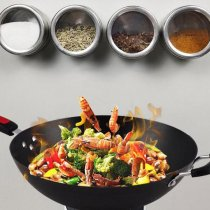 Magnetic Pot Spice Sauce Storage Container