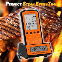 Wireless Dual Probes Food Thermometer