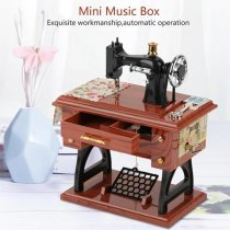 Cute Mini Sewing Machine Music Box(BUY 1 GET 2ND 10% OFF)