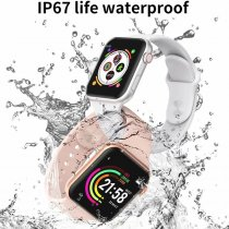USB Charging Waterproof Full Touchable Bluetooth Watch
