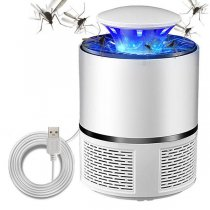 USB Electric Mosquito Killer LED Bug Zapper Insect Trap Radiationless Pest Repeller
